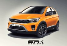 Tata Tiago NRG facelift digital rendering