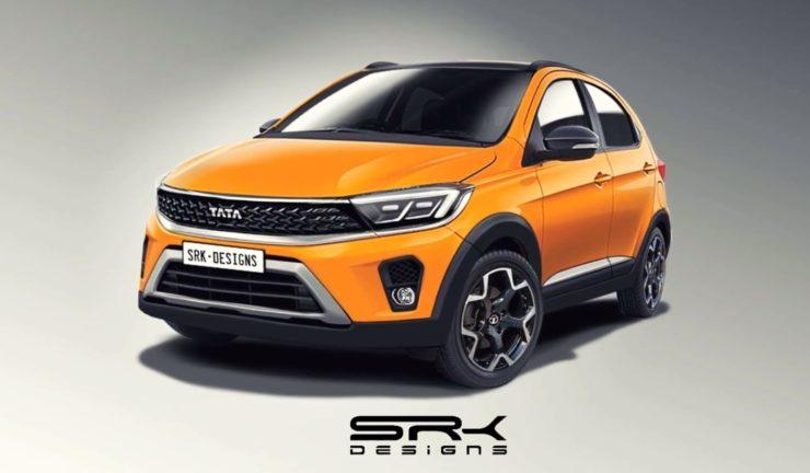 Tata Tiago NRG facelift digital rendering