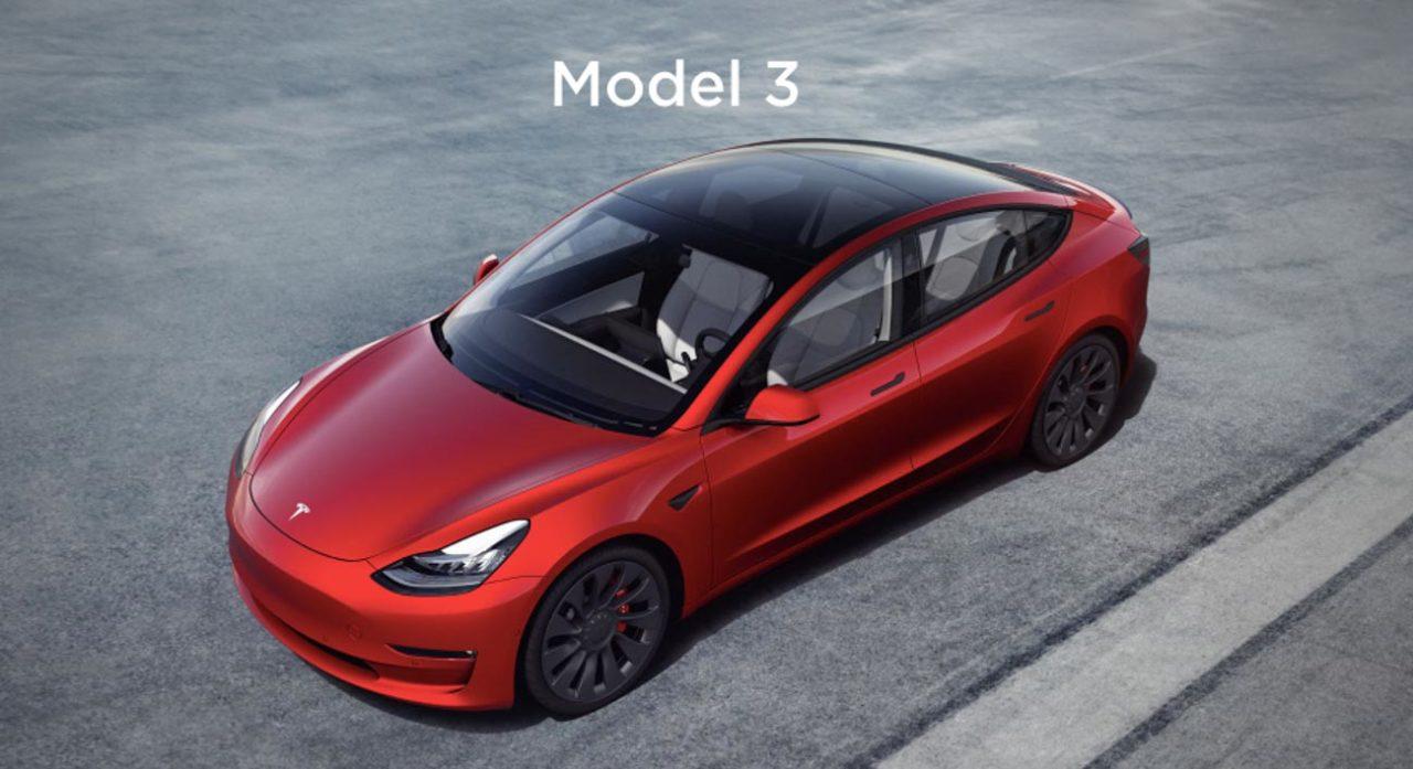Modo Tesla 3