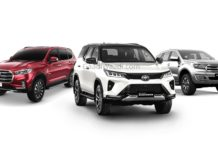 Toyota Fortuner Facelift Vs Endeavour Vs MG Gloster
