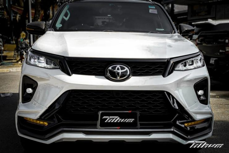 Toyota Fortuner Legender modified body kit 1