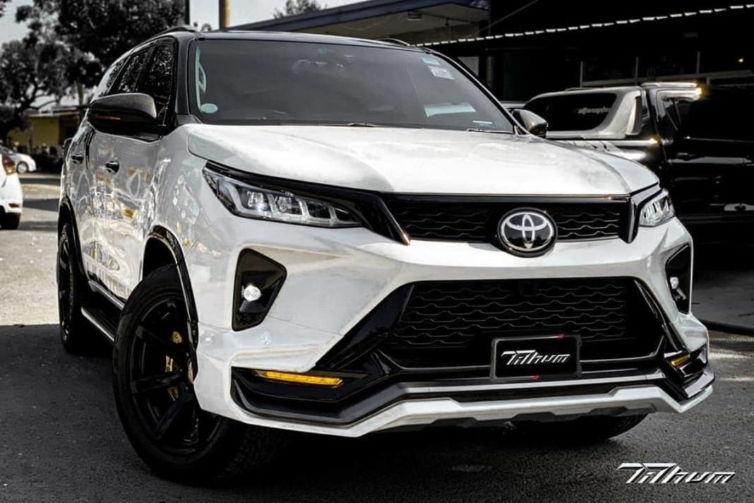 Toyota Fortuner Legender modified body kit feature