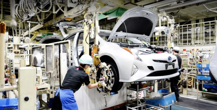 Toyota manufacturing plant