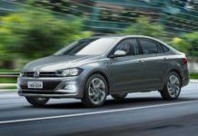 Volkswagen Virtus front three quarter