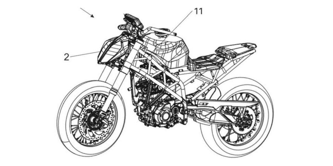 next gen ktm duke 390 patent