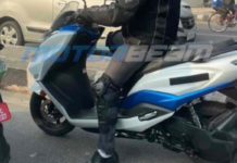 suzuki burgman electric scooter spied 3