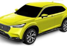 2021 Honda HR-V Rendered