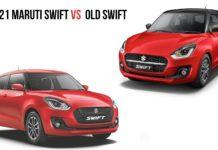2021 Maruti Swift Vs Old Swift
