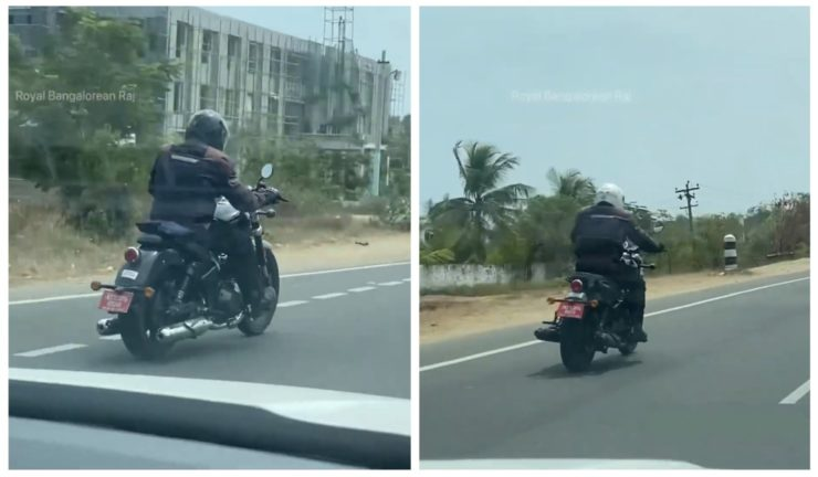 2021 Royal Enfield 650 cruiser spied 2