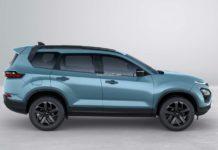2021 Tata Safari Adventure side profile
