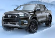 2021 Toyota Hilux AT35 front angle