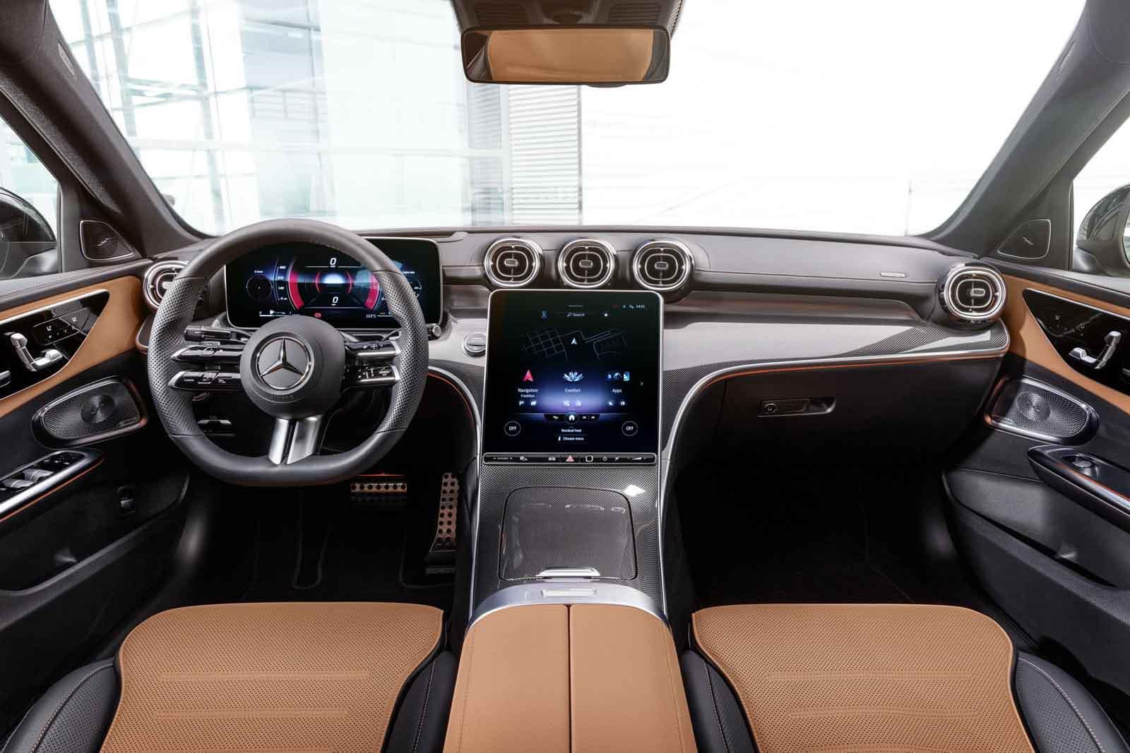 2022 Mercedes-Benz C-Class Interior
