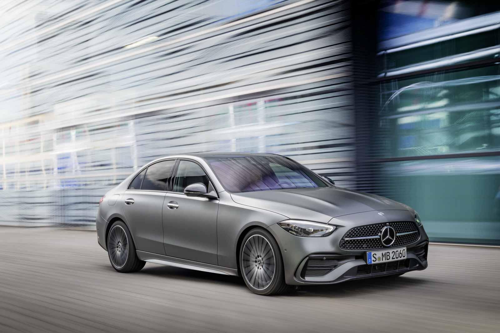 New-Gen Mercedes-Benz C-Class Makes Official Debut - GaadiWaadi.com