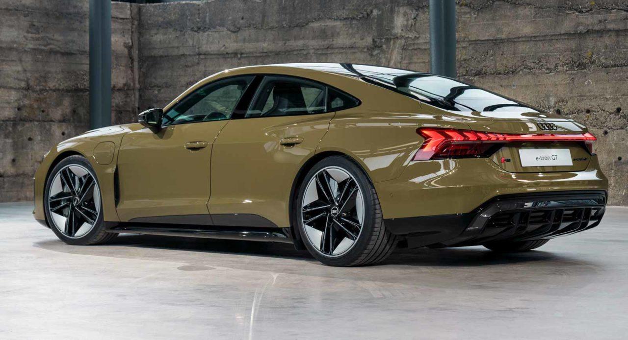 Audi e-tron GT Performance Sedan Unveiled With Nearly 500 Km Range