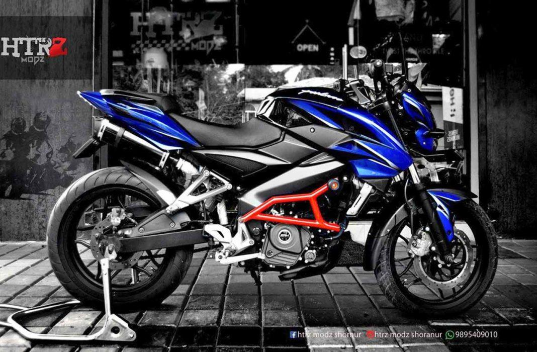 Bajaj Pulsar NS 200 custom