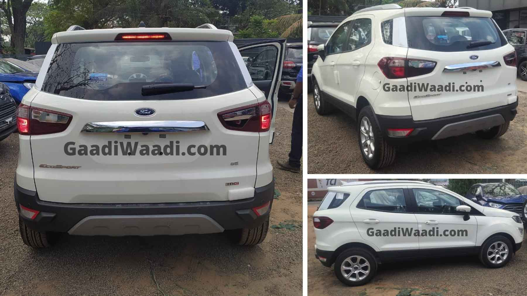 2021 Ford EcoSport SE Spotted During TVC Shoot In India - GaadiWaadi.com