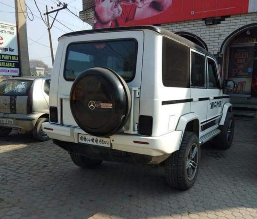 Modified Tata Sumo-3