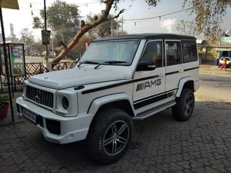 Modified Tata Sumo