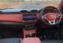 Nissan Magnite base XE trim modified interior