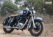 Royal Enfield Classic 350 bobber 4