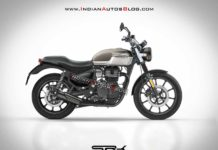 Royal Enfield Hunter Rendering