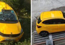 Tata Tiago accident image 0