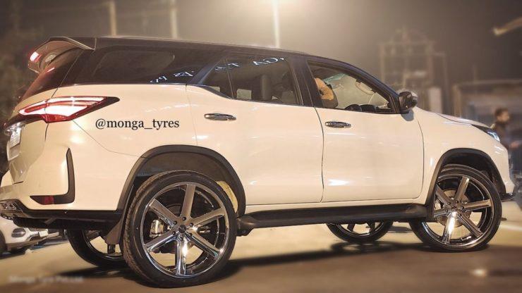 Toyota Fortuner Legender 24 inch alloy wheels 2