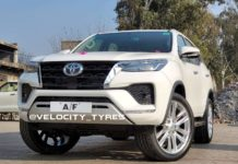 Toyota fortuner facelift modified front