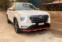 modified Hyundai Creta base to top trim exterior
