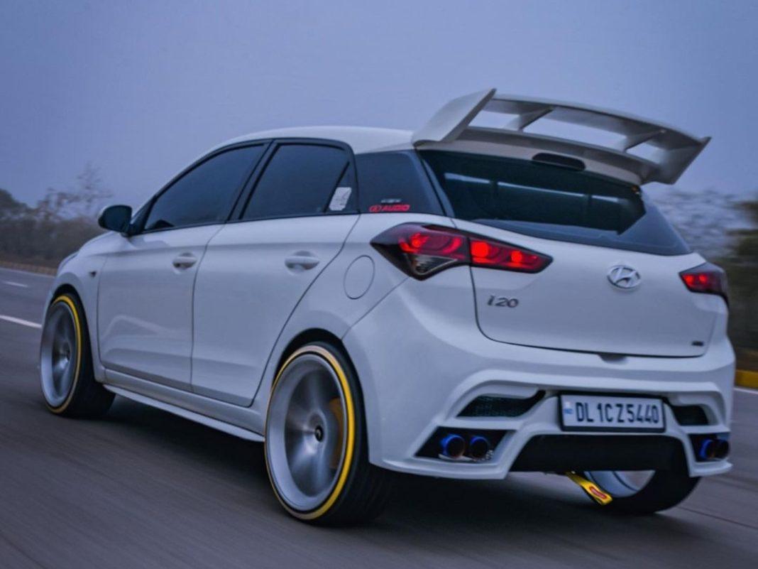 modified Hyundai i20 1