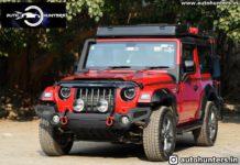 modified Mahindra Thar adventure body kit 1