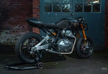 modified Royal Enfield Continental GT650 Goblin Works 1