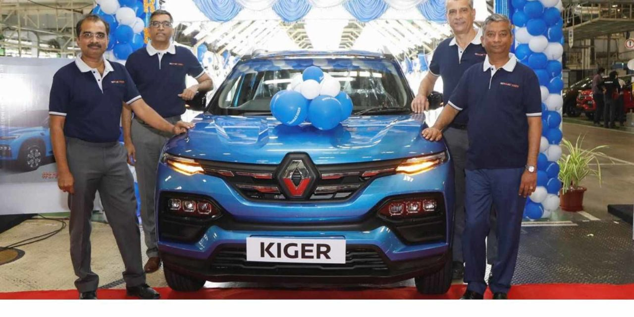 renault kiger production begins