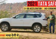 2021 tata safari acceleration test