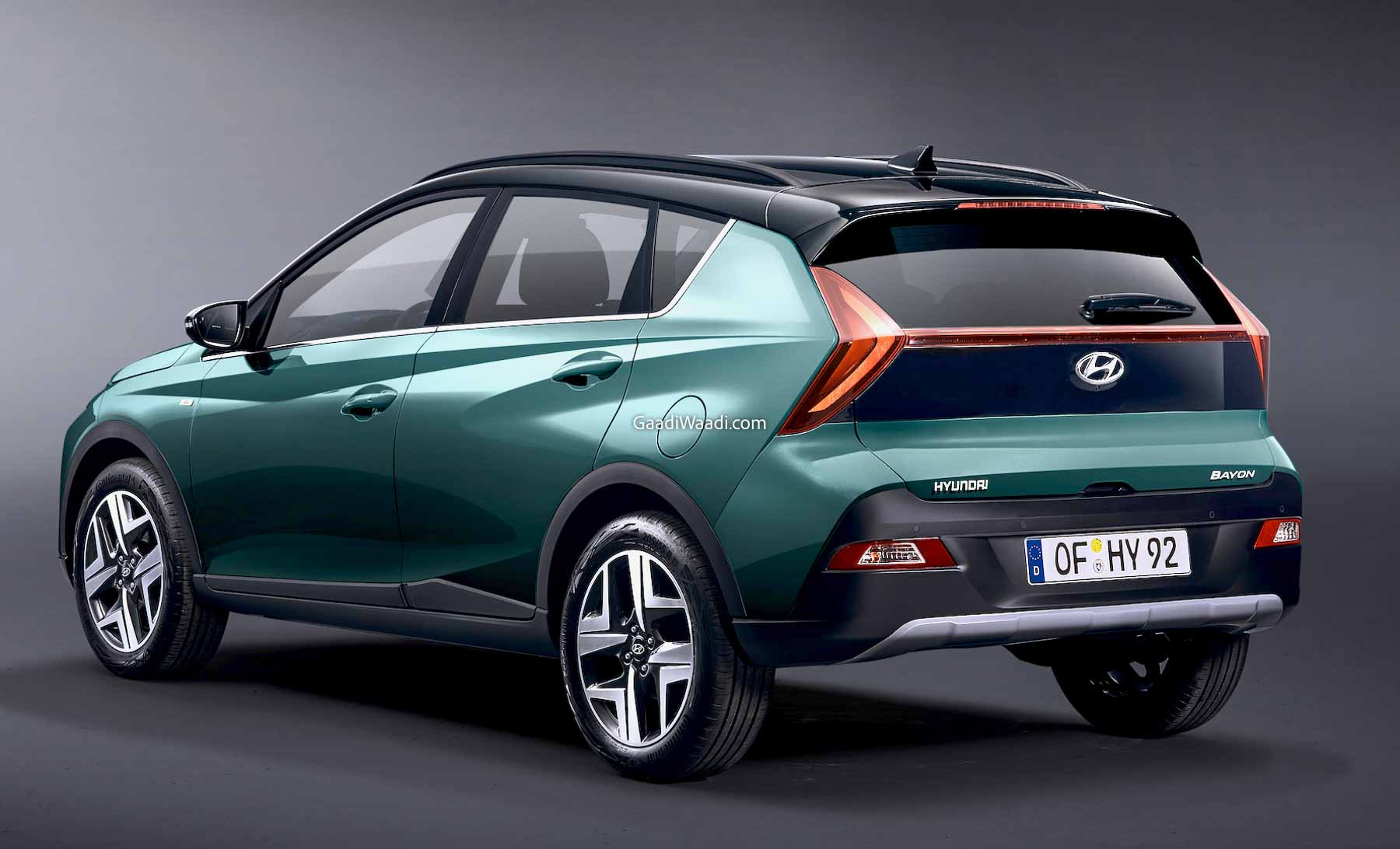 Hyundai Bayon Compact SUV Revealed With Aggressive Styling - GaadiWaadi.com