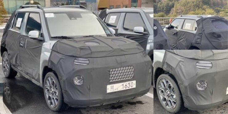 Hyundai AX1 Spied
