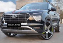 Hyundai Creta modified 22-inch wheels 6