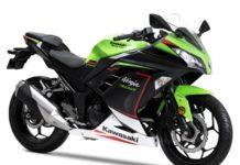 Kawasaki Ninja 300 BS6 lime green krt