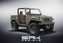 Mahindra Thar rendering Willys Jeep