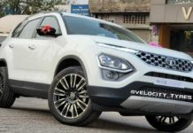 New Tata Safari With 20-Inch Aftermarket Alloy