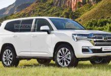 New gen Toyota Land Cruiser 300