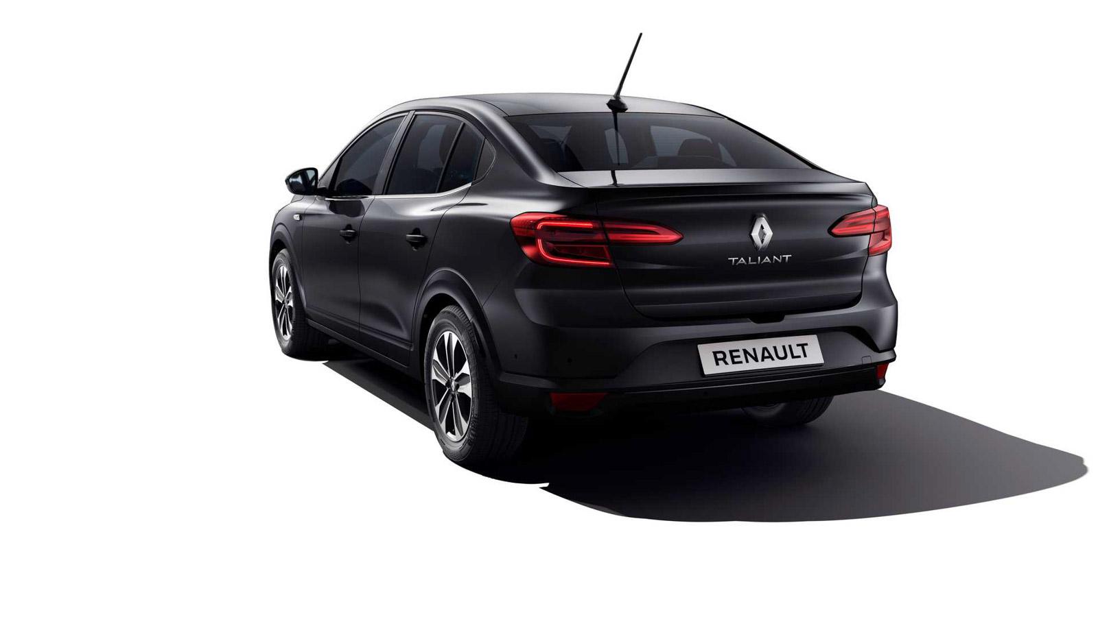 Lado del Renault Taliant