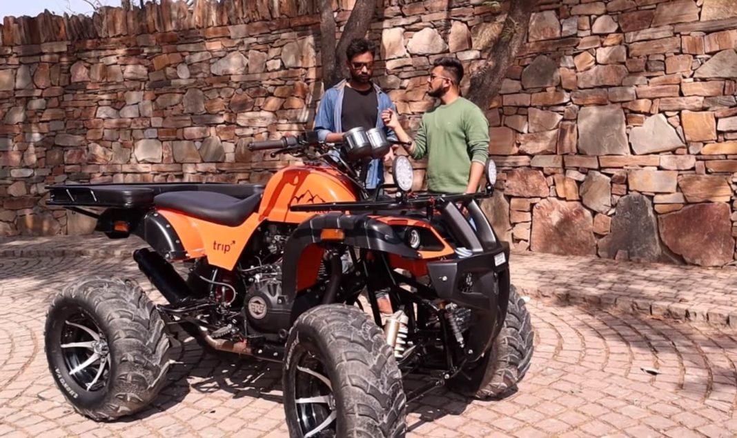 Royal Enfield Himalayan ATV Kunwar Customs 0