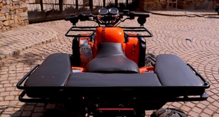 Royal Enfield Himalayan ATV Kunwar Customs 1