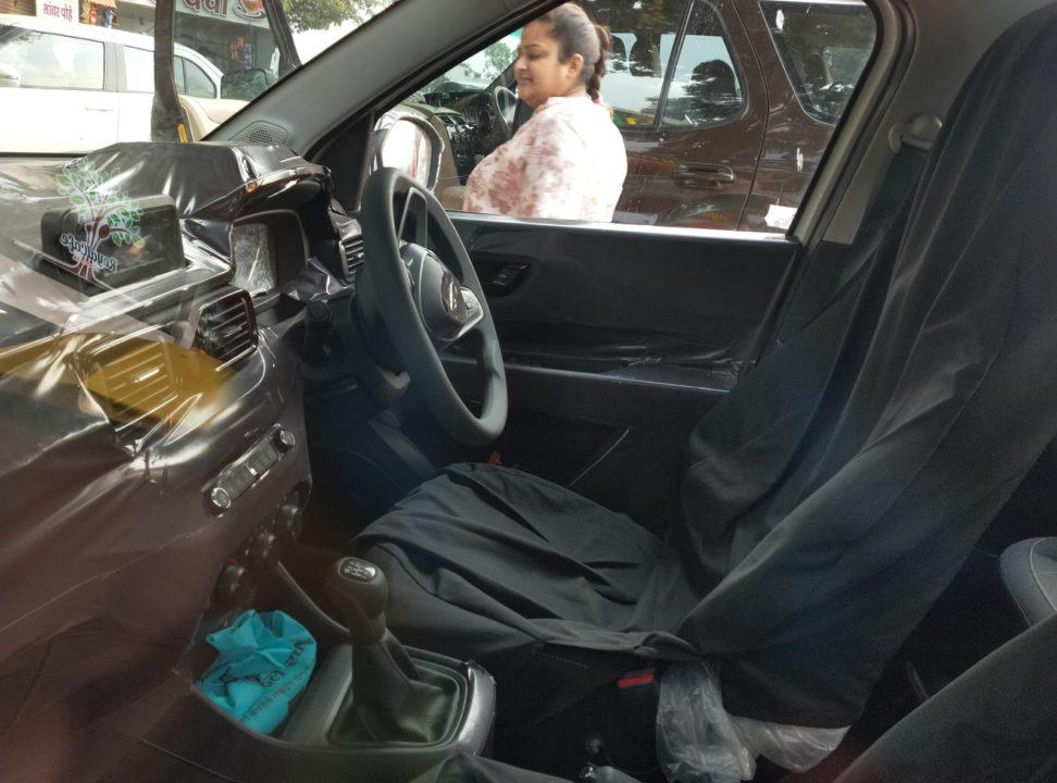 Tata HBX interior spied 1