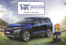 Tata Safari IPL Official partner