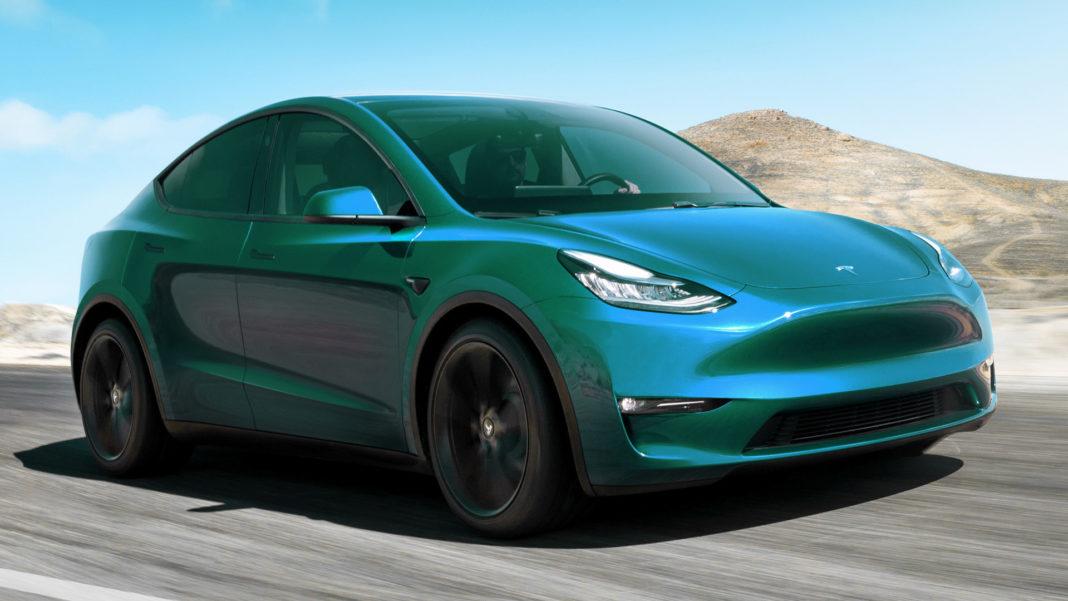 Tesla Model I front angle