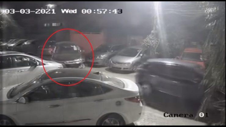 Toyota Innova Crysta Stolen South Delhi