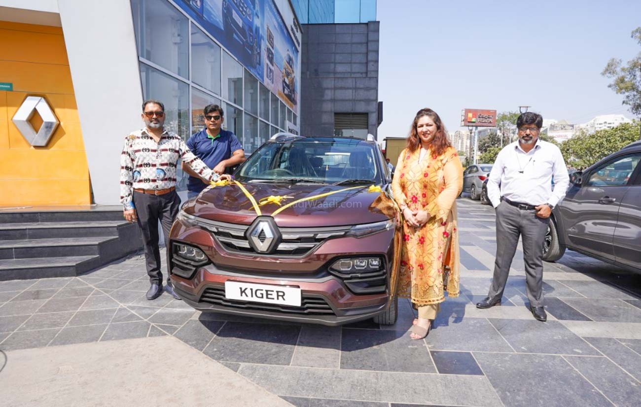 Deliveries Of Renault Kiger Compact SUV Commence In India - GaadiWaadi.com