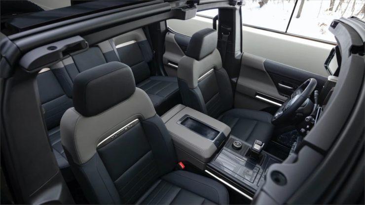 2024 GMC Hummer EV SUV interior 1